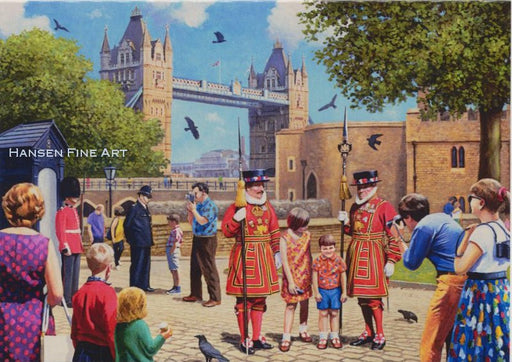 Kevin Walsh - Beefeaters at the Tower
