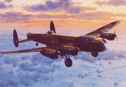 Keith Woodcock - The Homecoming - Avro Lancaster