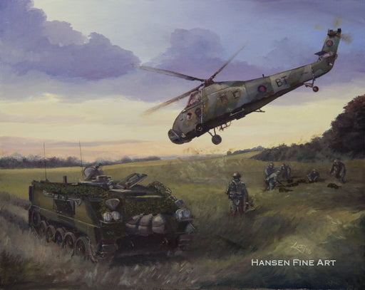 Frontline Delivery - FV432 and Westland Wessex