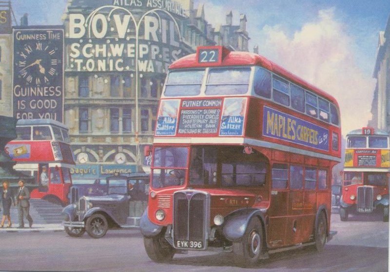 Mike Jefferies - RT1 at Piccadilly - London Bus