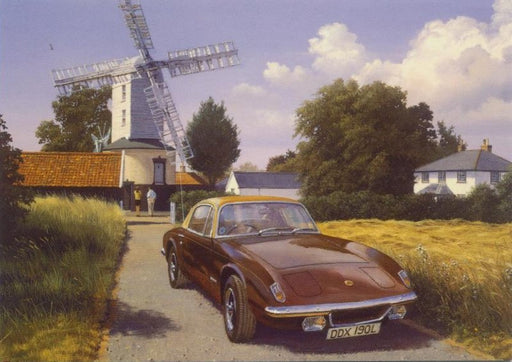 Malcolm Root - Lotus and the Windmill - Lotus Elan