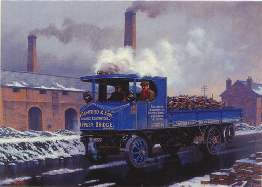 Malcolm Root - Winter Sentinel - Steam Lorry