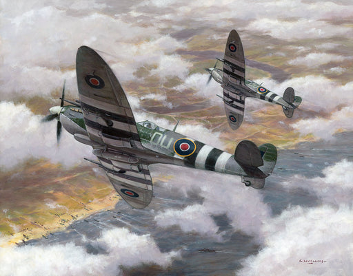 Normandy Patrol - Spitfire Mk.IX ML407
