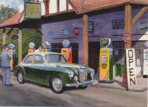 Paul Atchinson - Check Your Oil Sir - MG ZA Magnette