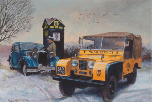 Paul Atchinson - Soon Have You Going Again - AA Land Rover