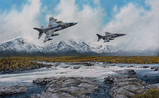 Run To The Hills - SEPECAT Jaguar