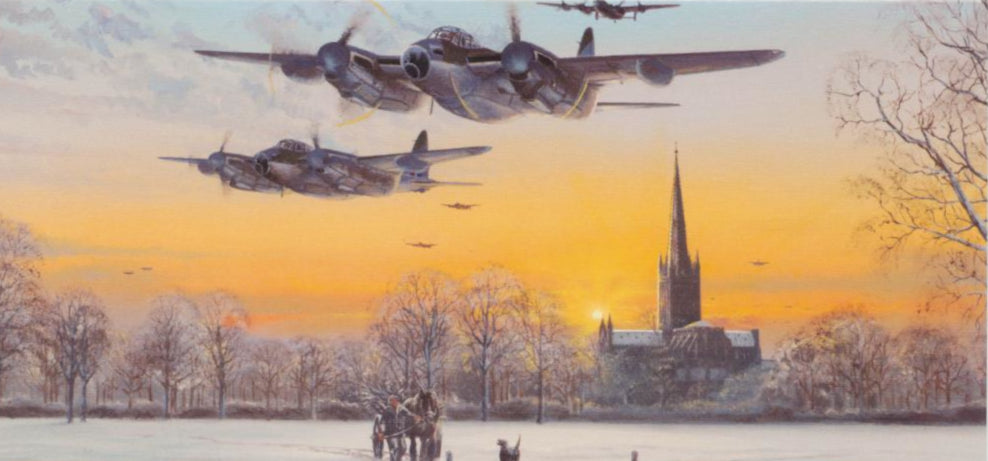 Philip E. West - Pathfinder Force - de Havilland Mosquito