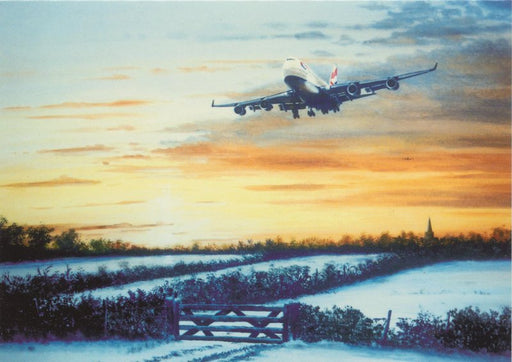 Paul Whitehouse - Jumbo Over Burstow - Boeing 747