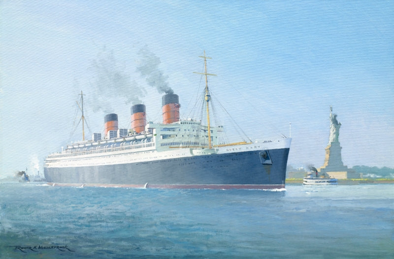 The Queen & The Lady - RMS Queen Mary