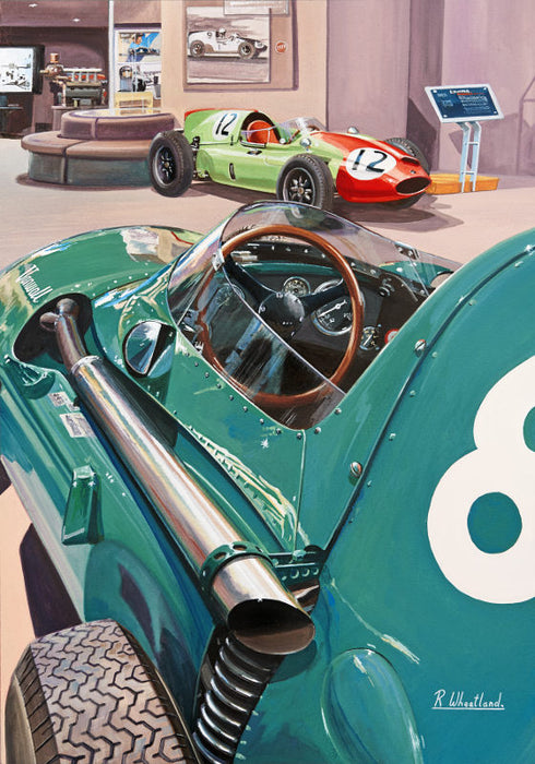 Back to the Front - Vanwall and Cooper F1 Cars