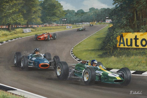 Friends and Rivals - Jim Clark and Graham Hill