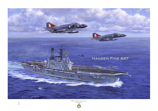 HMS Ark Royal & Phantom