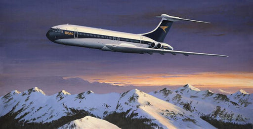 Stephen Brown - Heading Home For Christmas - Vickers VC-10 - BOAC