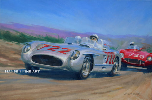 History Maker - Mercedes 300SLR - Stirling Moss