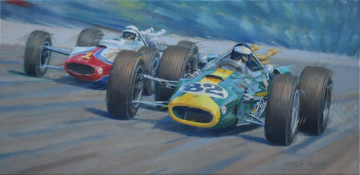 American Revolution - Jim Clark - Lotus 38