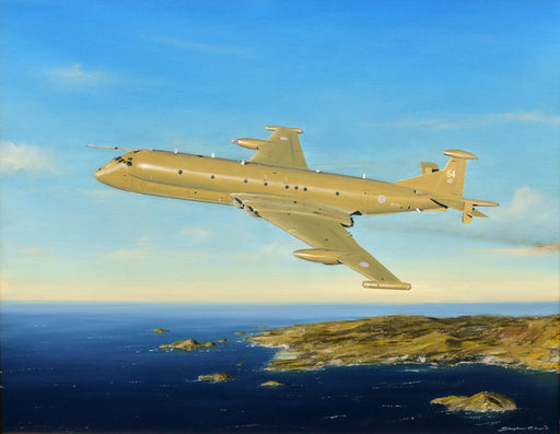 Coasting Out - Hawker Siddeley Nimrod Original Painting