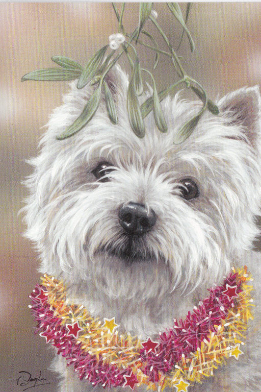 Paul Doyle - Christmas Kiss - Westie