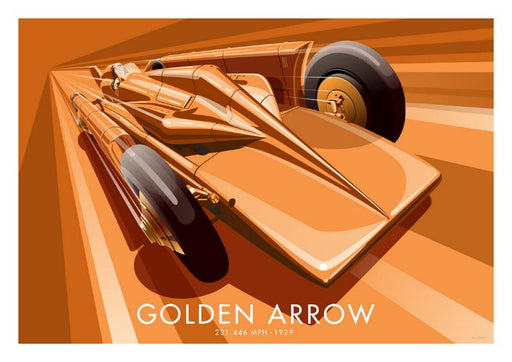Golden Arrow - World Land Speed Record