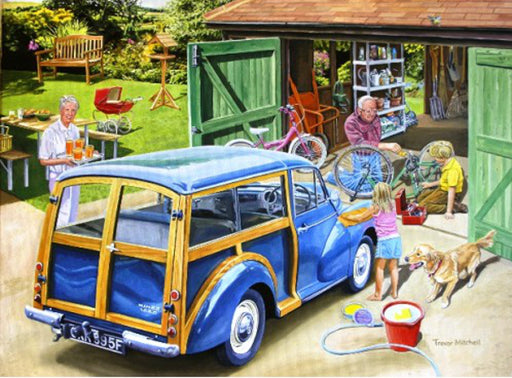 Trevor Mitchell - Grandad's Garage - Morris Minor Traveller