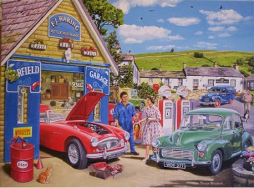 Trevor Mitchell - The Mechanic - Austin Healey Morris Minor