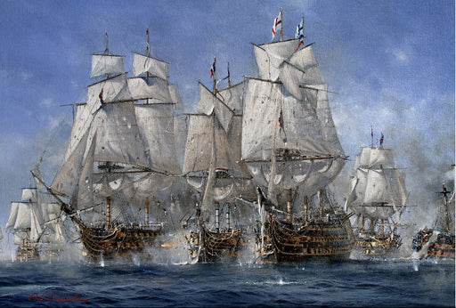Richard Grenville - The Broken Lines - HMS Victory