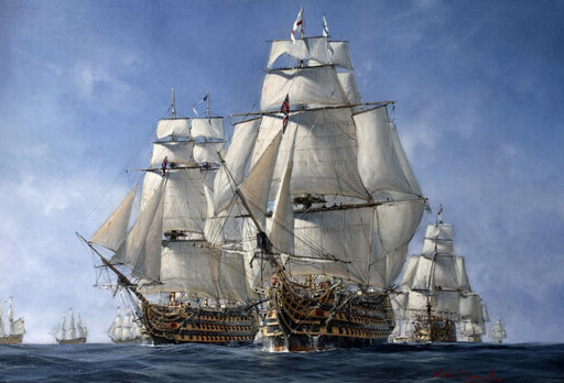 Richard Grenville - Hold The Line - HMS Victory & HMS Temeraire