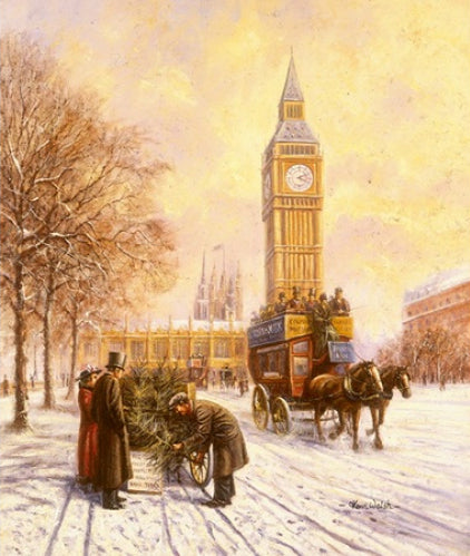 Kevin Walsh - Christmas at Westminster - Big Ben