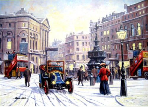 Kevin Walsh - Christmas at Piccadilly - Peugeot car