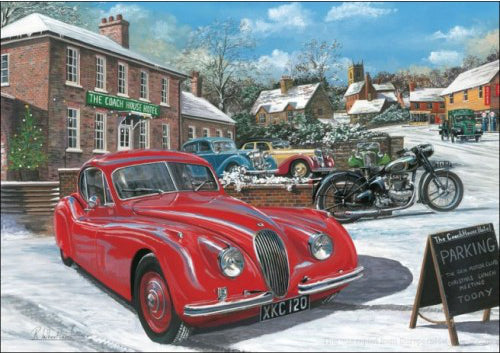 Richard Wheatland - Christmas Jaguar - Jaguar XK120