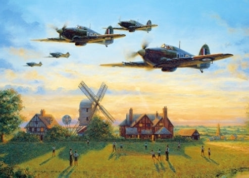 Bill Perring - Counting Them In - Hawker Hurricane