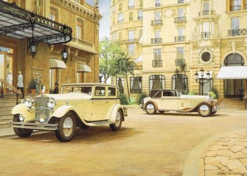 Stuart Barraclough - Delage at Monte Carlo