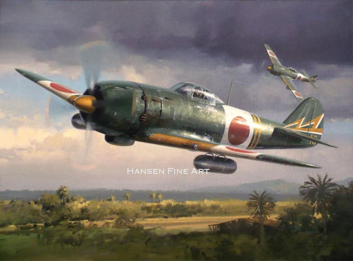 Hayate over the Homeland - Nakajima Ki-84