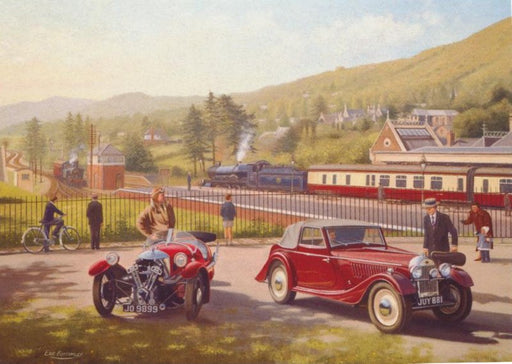 Eric Bottomley - Classic Travel, Great Malvern - Morgan Cars