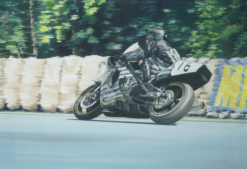 Robert Dunlop - Isle of Man TT 1990