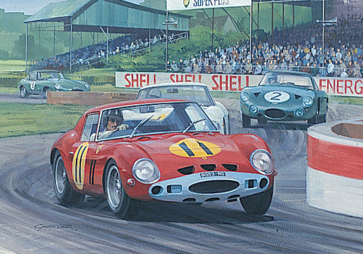 1963 Goodwood TT - Graham Hill - Ferrari 250GTO