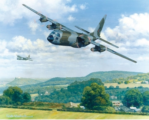 Keith Woodcock - Hercules Over Cheshire Ridge