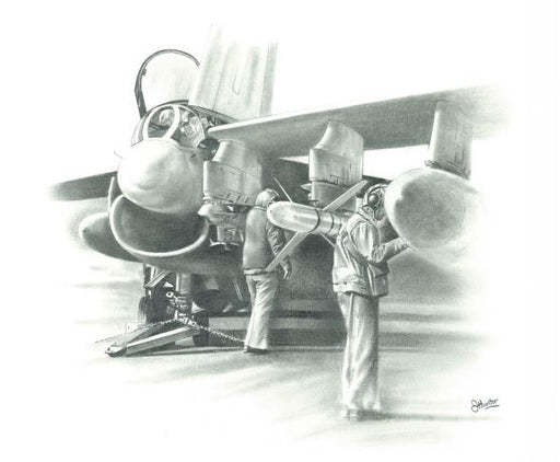They Also Serve - Vought A-7 Corsair II