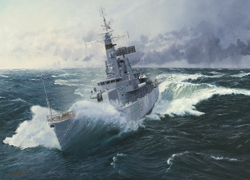 Heavy Weather - HMS Andromeda F57