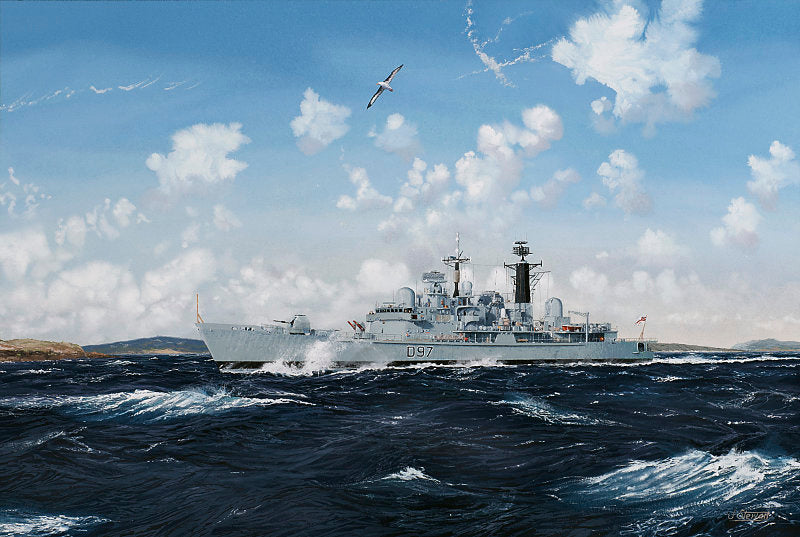 Falklands Patrol - HMS Edinburgh D97