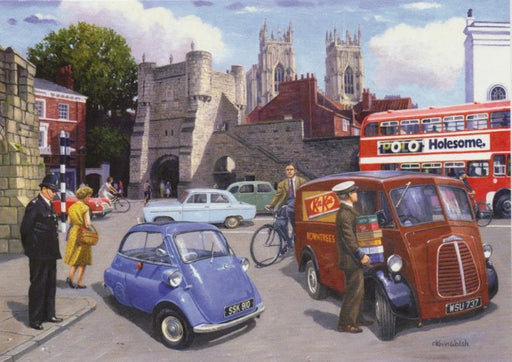 Kevin Walsh - Happy Days at York - BMW Isetta & Morris J Type
