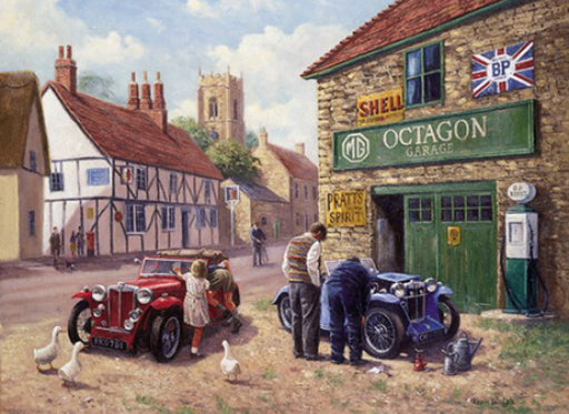 Kevin Walsh - Octagon Garage - MG TC
