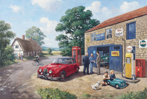 Kevin Walsh - Bridge Garage - Jaguar Mk.II