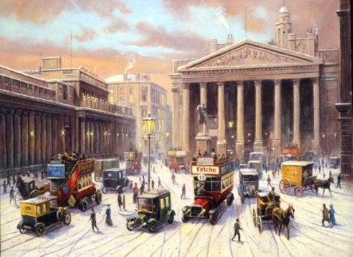 Kevin Walsh - Christmas Bank of England - Peugeot cab