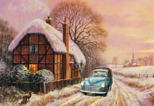 Kevin Walsh - Xmas in the Countryside - Morris Minor