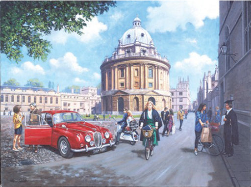 Kevin Walsh - University Days - Jaguar Mk.II