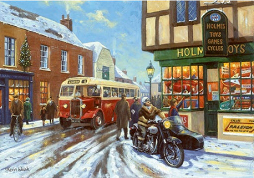 Kevin Walsh - Christmas in the High Street - Leyland Tiger