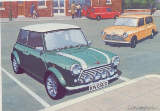 Keith Woodcock - Mini in the High Street