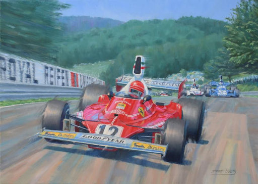 Into the Karussell - Niki Lauda - Ferrari 312T