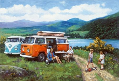 Trevor Mitchell - Life On The Open Road - VW Camper