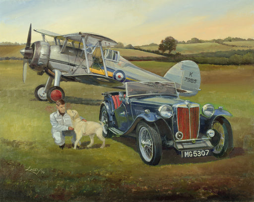 Lee Lacey - Welcoming Committee - Gloster Gladiator & MG TA (W)